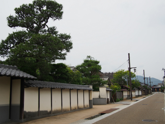 P6090011 歴史的情緒あふれる城下町、丹波篠山 / Sasayama, castle town with historical atmosphere